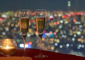 デューク新宿の夜景ディナー画像